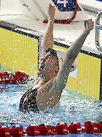 Toronto, Ontario, August 12, 2015. Justine Morrier competes in the swimming during the 2015 Parapan Am Games . Photo Scott Grant/Canadian Paralympic Committee