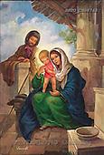 Sue Allison, HOLY FAMILIES, paintings, BRTOCH08745,#XR# Weihnachten, Navidad, illustrations, pinturas