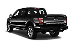 Car pictures of rear three quarter view of 2019 Ford F-150 XL-SuperCrew 2 Door Pick-up Angular Rear
