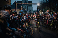 Tom Pidcock (GBR/U23/Telenet Fidea Lions) at the race start<br /> <br /> U23 race<br /> Superprestige Diegem / Belgium 2017
