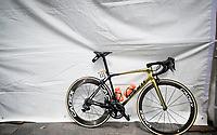 Greg Van Avermaet's (BEL/CCC) bling bike at the race start in Tarbes<br /> <br /> Stage 14: Tarbes to Tourmalet(117km)<br /> 106th Tour de France 2019 (2.UWT)<br /> <br /> ©kramon