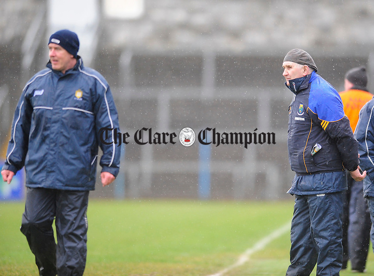 Clare Football manager Frank Doherty.Pic Arthur Ellis. NFL Clare v Wicklow at Cusack Park.Pic Arthur Ellis.