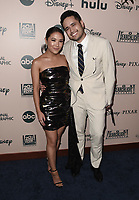 BEVERLY HILLS - JANUARY 5: (L-R) Ally Maki and Travis Atreo attend The Walt Disney Company 2020 Golden Globe Awards Nominee Celebration at The Disney Terrace on the Roof Deck at the Beverly Hilton on January 5, 2020 in Beverly Hills, California. (Photo by Scott Kirkland/The Walt Disney Company/PictureGroup)