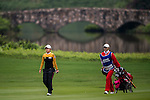 Hyun Min Byun of Korea in action during the Hyundai China Ladies Open 2014 on December 12 2014, in Shenzhen, China. Photo by Li Man Yuen / Power Sport Images