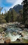 Yosemite Creek below Yosemite Falls, Yosemite National Park