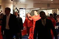 Weltmeister Wladimir Klitschko (UKR) laeuft ein