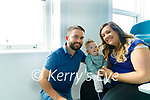 Baby Theo Whelan with his parents Shane and Stephenie at Temple Street hospital.
