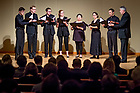 March 6, 2018; Vocal performance in the Reyes Organ Hall in Debartolo Performing Arts Center. (Photo by Matt Cashore/University of Notre Dame)