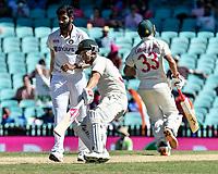 9th January 2021; Sydney Cricket Ground, Sydney, New South Wales, Australia; International Test Cricket, Third Test Day Three, Australia versus India; David Warner of Australia runs between the wicket