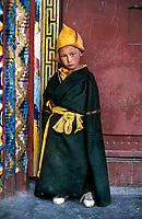 Kham, Tibet 2006 . Monk in Litang, Kham, Eastern Tibet, 2005