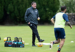 St Johnstone Training…04.07.17<br />Manager Tommy Wright pictured during training this morning before flying out to Lithunania for Thursday nights Europa League second leg qualifyer ahainst FK Trakai.<br />Picture by Graeme Hart.<br />Copyright Perthshire Picture Agency<br />Tel: 01738 623350  Mobile: 07990 594431