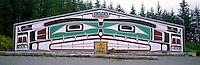 Alert Bay, BC, Cormorant Island, British Columbia, Canada - Kwakwaka'wakw (Kwakiutl) Namgis Big House