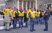 - Milan, general strike against dismissal organized by CGIL labor union<br /> <br /> - Milano, sciopero generale del sindacato CGIL contro i licenziamenti