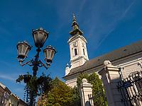 orthodoxe Kirche des heiligen Georg in Novi Sad = Neusatz, Vojvodina, Serbien, Europa<br /> Orthodox Church of St. George, Novi Sad, Vojvodina, Serbia, Europe