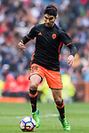 Carlos Soler Barragan of Valencia CF in action during their La Liga match between Real Madrid and Valencia CF at the Santiago Bernabeu Stadium on 29 April 2017 in Madrid, Spain. Photo by Diego Gonzalez Souto / Power Sport Images