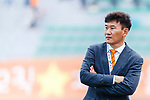 Jeju United Head Coach Cho Sung Hwan during the AFC Champions League 2017 Round of 16 match between Jeju United FC (KOR) vs Urawa Red Diamonds (JPN) at the Jeju Sports Complex on 24 May 2017 in Jeju, South Korea. Photo by Yu Chun Christopher Wong / Power Sport Images