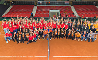 The Hague, The Netherlands, September 17, 2017,  Sportcampus , Davis Cup Netherlands - Chech Republic, <br /> Photo: Tennisimages/Henk Koster