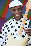 May 7, 2017 New Orleans, La: Singer/Musician Buddy Guy performs New Orleans Jazz & Heritage Festival on May 7, 2017 in New Orleans, La