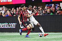 Atlanta, Georgia - Sunday March 17, 2019: Atlanta United and Philadelphia Union played to a 1-1 draw in a Major League Soccer (MLS) match played in Mercedes-Benz Stadium.