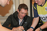 Dan Martin (IRL) at the Cycling Ireland press conference during the Men U23 Road Race of the UCI World Championships 2019 running 186.9km from Doncaster to Harrogate, England. 27th September 2019.<br /> Picture: Eoin Clarke | Cyclefile<br /> <br /> All photos usage must carry mandatory copyright credit (© Cyclefile | Eoin Clarke)