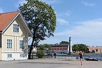 Am Kungsbron, Karlskrona, Provinz Blekinge, Schweden, Europa, UNESCO-Weltkulturerbe