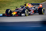 Aston Martin Red Bull Racing Honda, Alexander Albon, takes part in the tests for the new Formula One Grand Prix season at the Circuit de Catalunya in Montmelo, Barcelona. February 19, 2020 (ALTERPHOTOS/Javier Martínez de la Puente)