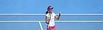 Na Li (CHN) defeats Flavia Pennetta (ITA) 6-2, 6-2 at the Australian Open in Melbourne, Australia on January 2014