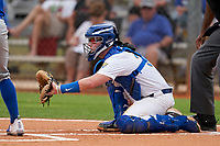 Pitt Panthers catcher Riley Wash (33) during the teams opening game of the season against the Indiana State Sycamores on February 19, 2021 at North Charlotte Regional Park in Port Charlotte, Florida.  (Mike Janes/Four Seam Images)