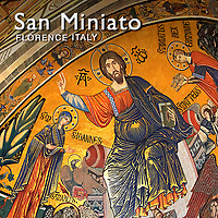 Pictures of Romanesque San Miniato al Monte Church Florence - Italy -