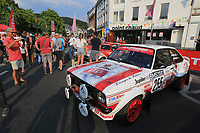 PARADE OF HISTORIC CARS TOTAL 24 HOURS OF SPA