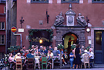 Europe, SWE, Sweden, Stockholm, Old town, Gamla Stan, Stortorget, Restaurant, Tourists