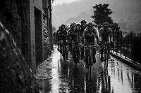 fast/tricky/slippery/narrow/nervous town passages in Mallorca when it rains...<br /> <br /> Trofeo Lloseta - Andratx: 140km<br /> 27th Challenge Ciclista Mallorca 2018