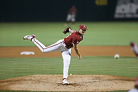 Arkansas Kevin Kopps (45) pitches, Saturday, June 5, 2021 in the second game of the NCAA Fayetteville Regional at Baum-Walker Stadium in Fayetteville. Check out nwaonline.com/210606Daily/ for today's photo gallery. <br /> (NWA Democrat-Gazette/Charlie Kaijo)