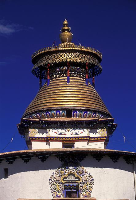 The Kumbum at Palkhor Chode Monastery, 15th century, Gyantse, Tibet, Tibetan Autonomous Region, China, Asia
