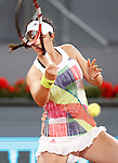 Louisa Chirico, USA, during Madrid Open Tennis 2016 match.May, 6, 2016.(ALTERPHOTOS/Acero)