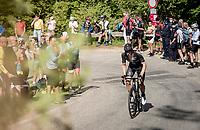 up the Alpe di Mera finish climb<br /> <br /> 104th Giro d'Italia 2021 (2.UWT)<br /> Stage 19 from Abbiategrasso to Alpe di Mera (Valsesia)(176km)<br /> <br /> ©kramon