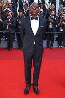 Lucien Jean-Baptiste, sur le tapis rouge pour la projection du film D APRES UNE HISTOIRE VRAIE, hors competition lors du soixante-dixième (70ème) Festival du Film à Cannes, Palais des Festivals et des Congres, Cannes, Sud de la France, samedi 27 mai 2017.