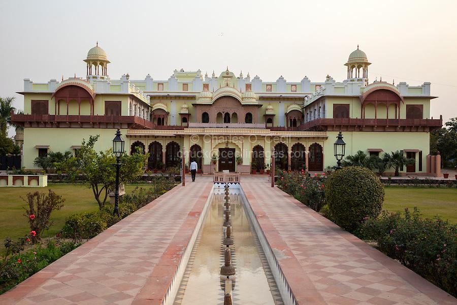 Bharatpur, Rajasthan, India.  Laxmi Vilas Palace, a Heritage Hotel.