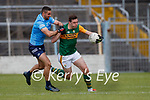 James McCarthy, Dublin in action against David Moran, Kerry during the Allianz Football League Division 1 South between Kerry and Dublin at Semple Stadium, Thurles on Sunday.