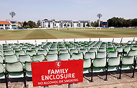 General view of the Spitfire Ground during Kent CCC vs Sussex CCC, Bob Willis Trophy Cricket at The Spitfire Ground on 9th August 2020