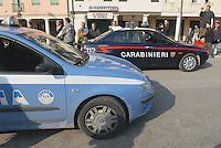 - Carabinieri and Police patrol cars....- auto dei Carabinieri e Polizia