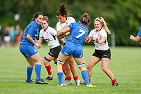 24 August 2019; Stacey-Lea Kennedy during the Women's Interprovincial Championship match between Ulster and Leinster at Armagh RFC in Armagh. Photo by John Dickson / DICKSONDIGITAL