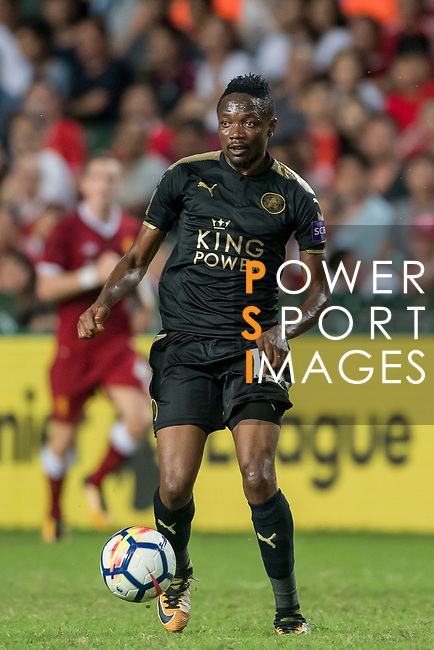 Leicester City FC forward Ahmed Musa in action during the Premier League Asia Trophy match between Liverpool FC and Leicester City FC at Hong Kong Stadium on 22 July 2017, in Hong Kong, China. Photo by Weixiang Lim / Power Sport Images