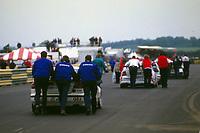1997 British Touring Car Championship. Set up.
