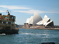 Ferry boat & Sydney Opera House