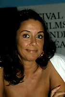 Monica Randall<br /> <br /> au Festival des Films du Monde circa 1987<br /> <br /> PHOTO : Agence Quebec Presse