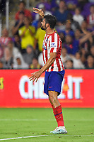 Orlando, FL - Wednesday July 31, 2019:  Diego Costa #19 during an Major League Soccer (MLS) All-Star match between the MLS All-Stars and Atletico Madrid at Exploria Stadium.