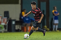 STANFORD, CA - August 19, 2014: Trevor Hyman during the Stanford vs CSU Bakersfield men's exhibition soccer match in Stanford, California.  Stanford won 1-0.