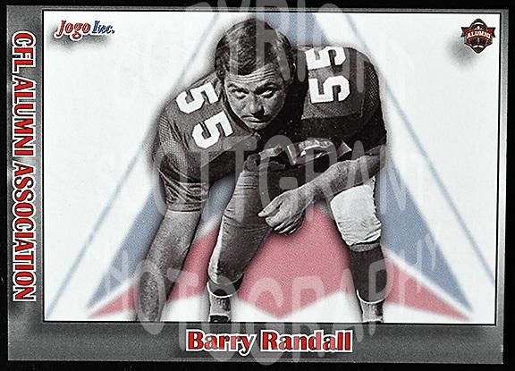 Barry Randall-JOGO Alumni cards-photo: Scott Grant