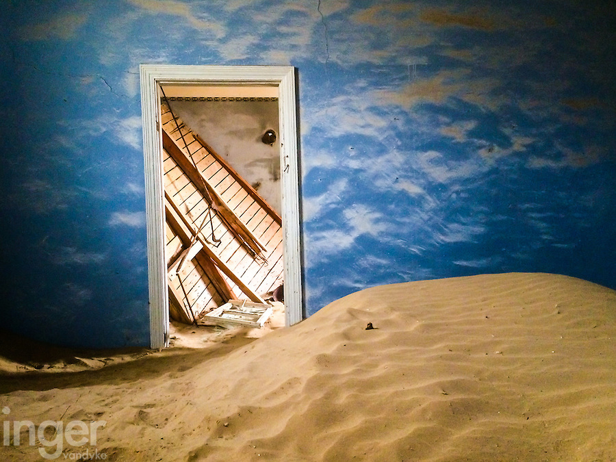 The Cloud Room in Kolmanskop, Namibia
